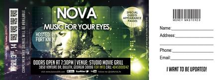 "NoVA ""Music For The Eyes"""