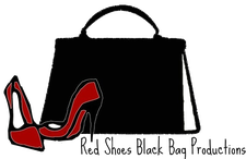 Red Shoes Black Bag Productions logo