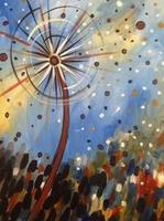 Sip n' Paint Funky Dandelion Saturday, August 30th,...