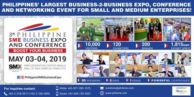 8th Philippine SME Business Expo & Conference 2019