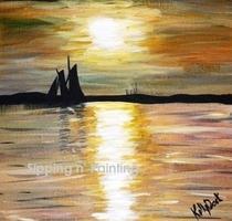Sip n' Paint Amelia Island Saturday, July 19th, 7:30pm