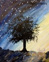 Sip n' Paint Milky Way Saturday, August 2nd, 7:30pm