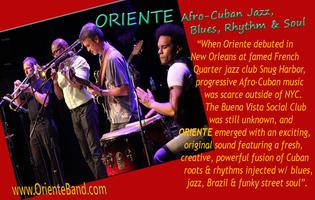 FREE - Miami Jazz Society presents Oriente (Jazz Band)