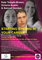 Power Series: Starting Strong in your Career