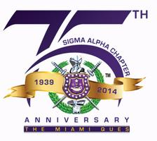 Sigma Alpha Chapter's 75th Anniversary Celebration