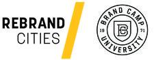 Rebrand Cities + Brand Camp University logo