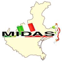 MIDAS - Comitato Regionale Veneto logo