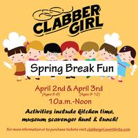 Spring Break Fun- Kids Class Ages 5-8