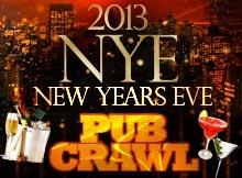 NEW YEAR'S EVE PUB CRAWL HOLLYWOOD