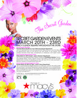Macy's Lenox Square Secret Garden Events!