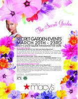 Macy's Lenox Square Secret Garden Events!