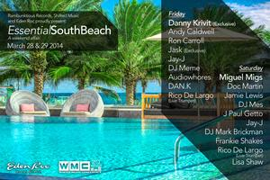 Essential South Beach w/ Danny Krivit, Andy Caldwell,...