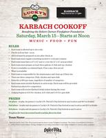 Karbach Cook-Off and Tasting @ Lucky's Pub Heights