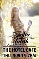 Sofia Talvik @ Hotel Cafe