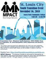 2nd Annual St. Louis City Youth Transition Event:...