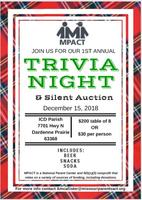 MPACT's 1st Annual Trivia & Silent Auction