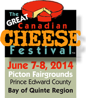 2014 Great Canadian Cheese Festival—Special Events