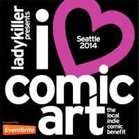 I Heart Comic Art: the local indie comic art benefit
