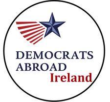 Democrats Abroad Ireland logo