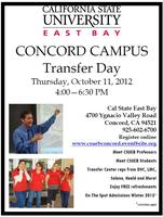Transfer Day at Cal State East Bay - Concord Campus