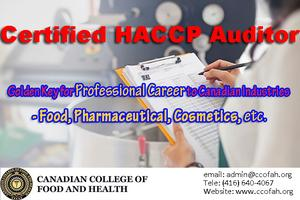 Certified HACCP Auditor (CHA) - Get It in 36 Hours! Tickets
