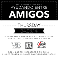 Best Buddies Happy Hour: Ayudando Entre Amigos