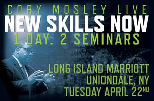 Cory Mosley Live - New Skills Now Seminar