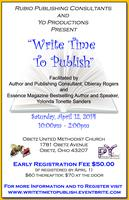 Write Time to Publish