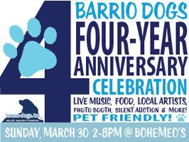 Barrio Dogs 4th Anniversary Celebration