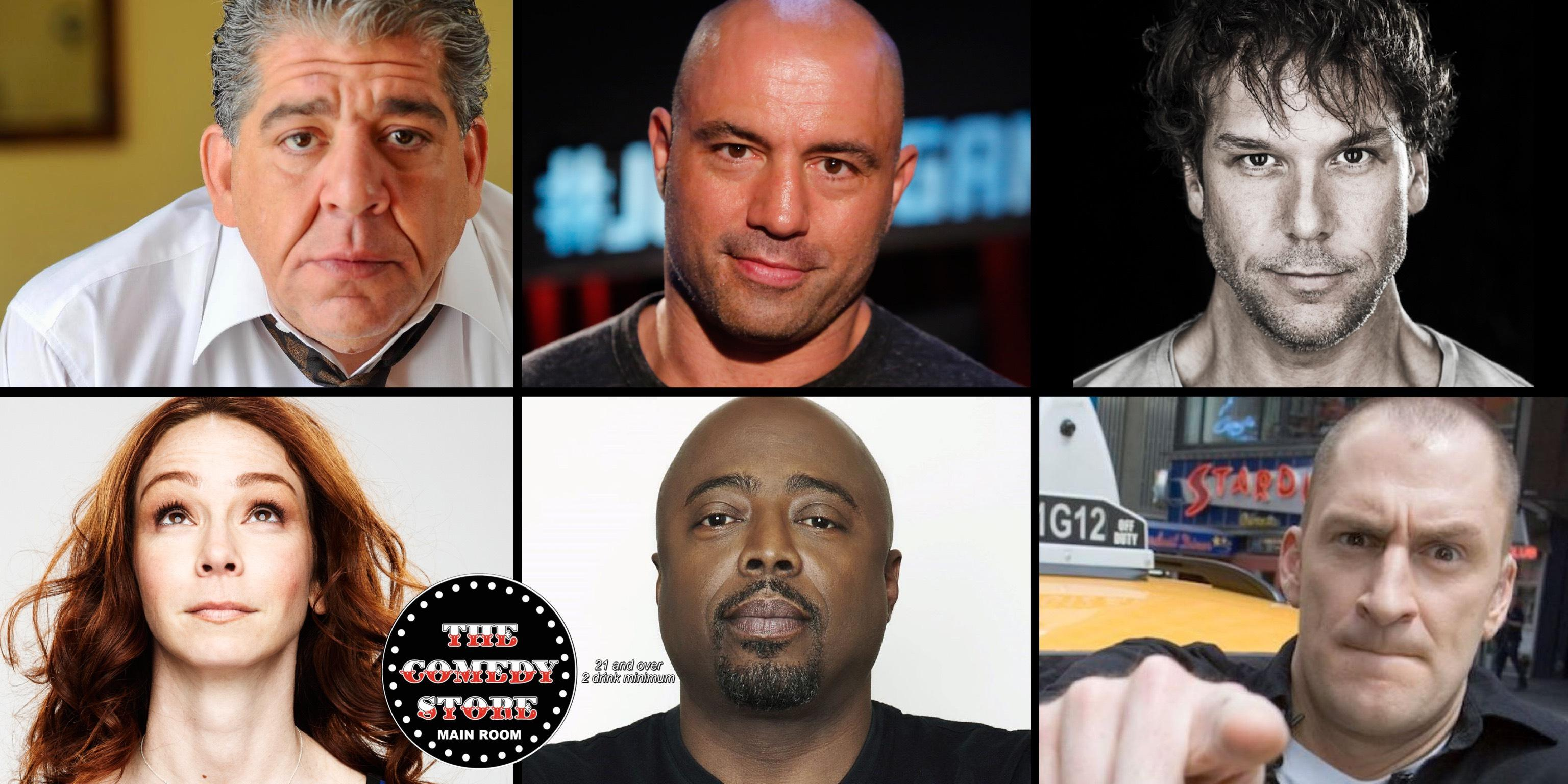 Joe Rogan, Dane Cook, Joey Diaz, Donnell Rawlings,Ben Bailey from Cash Cab