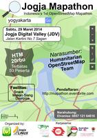 Jogja Mapathon | Indonesia's 1st OpenStreetMap Mapathon