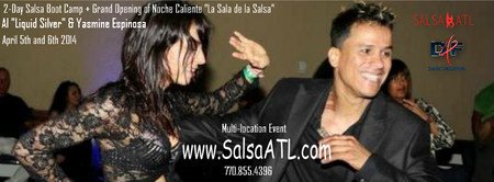 2-Day Salsa Boot Camp Atlanta Ga + Latin Dance Party Sat...