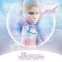 "CLOUD 9 ""WHITE WITH A POP OF COLOR"""