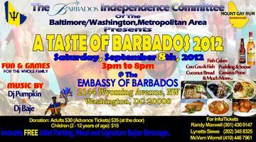 A Taste of Barbados 2012