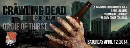4/12/14 - The Crawling Dead Pub Crawl - ORLANDO