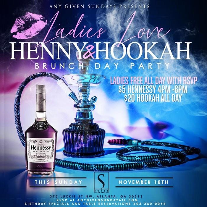 ANY GIVEN SUNDAY @SUITE LOUNGE (DAY PARTY)