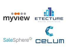 myview systems GmbH, ETECTURE GmbH, SaleSphere GmbH, Celum GmbH logo