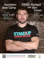 Operation Boot Camp PRIDE Workout with Ben Cohen, MBE
