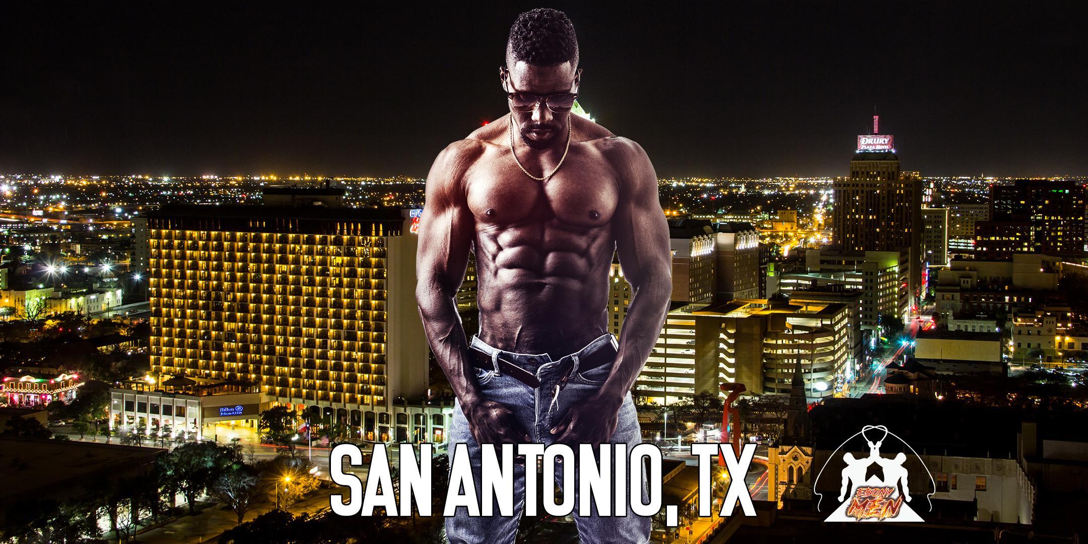 Ebony Men Black Male Revue Strip Clubs & Black Male Strippers San Antonio TX NC 8-10PM