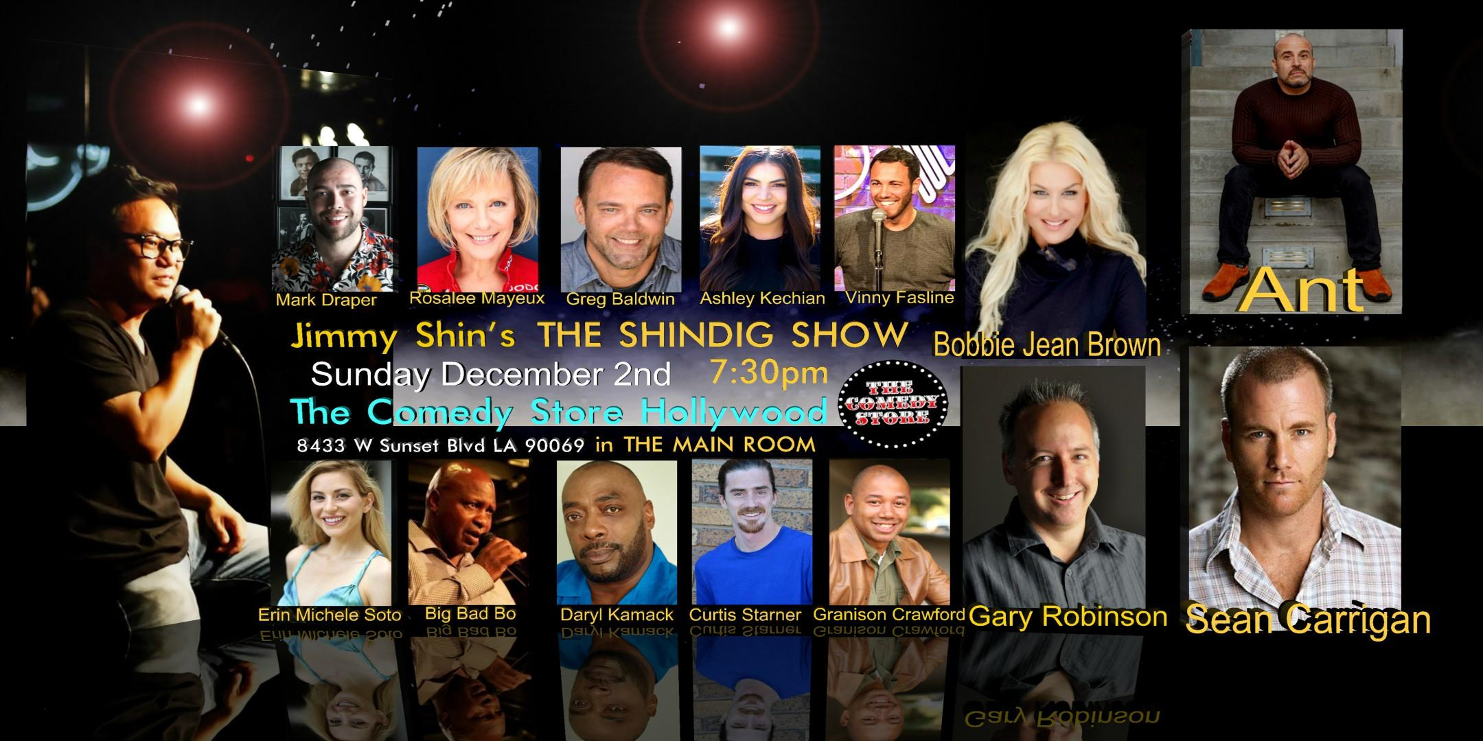 The Shindig Show 5 year Anniversary Show