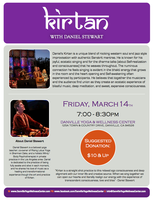 LIVE Music: Kirtan Musical Meditation Concert