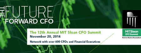 MIT Sloan CFO Summit 2014