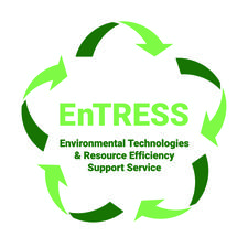 EnTRESS (Environmental Technologies & Resource Efficiency Support Service) logo