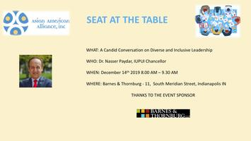 AAAI Seat At The Table -Dr. Nasser Paydar