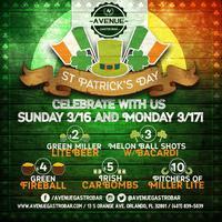 St Paddy's Sunday Funday