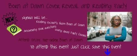 Born at Dawn Cover Reveal and Reading Party