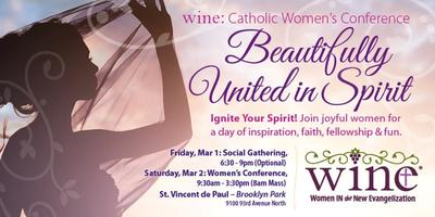 """2019 WINE: Women's Conference: """"Beautifully United in Spirit"""""""