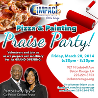 Pizza, Painting and Praise Party