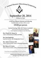 Wilmington Lodge #804 Masonic Educational Symposium