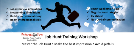 Job Hunt Training Workshop by InternsGoPro